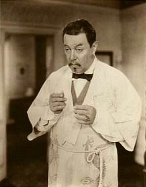 Publicity still for Charlie Chan in London